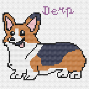 Cross Stitch - Derp