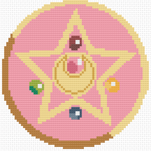 Cross Stitch - Moon Prism Power