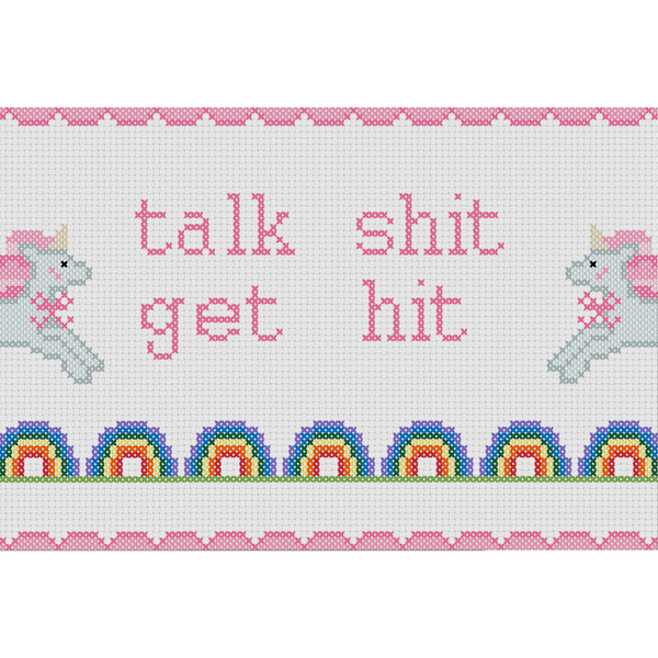Cross Stitch - Talk Shit