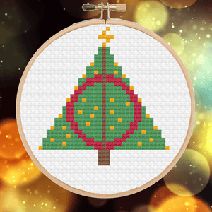 Cross Stitch - We Wish You A Nerdy Christmas