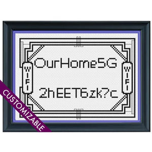 Cross Stitch - Wi-Fi, Sweet Wi-Fi