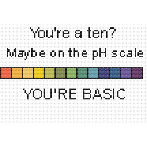 Cross Stitch - You're Basic