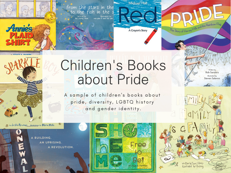 Children's books about Pride