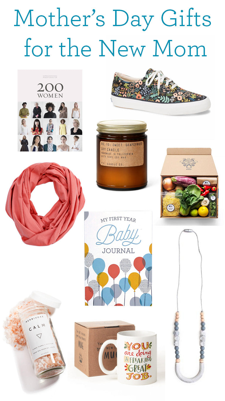 Mother's Day gift guide for new moms