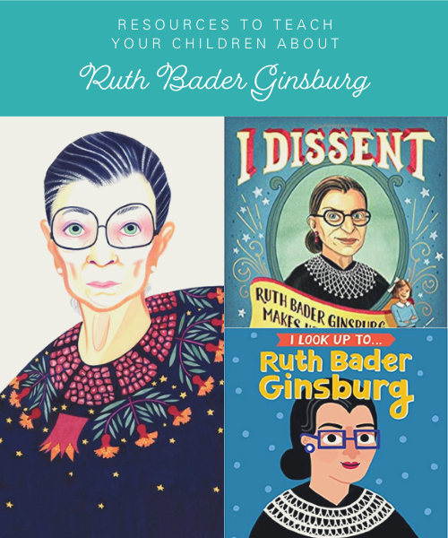 Teaching children about Ruth Bader Ginsburg's legacy