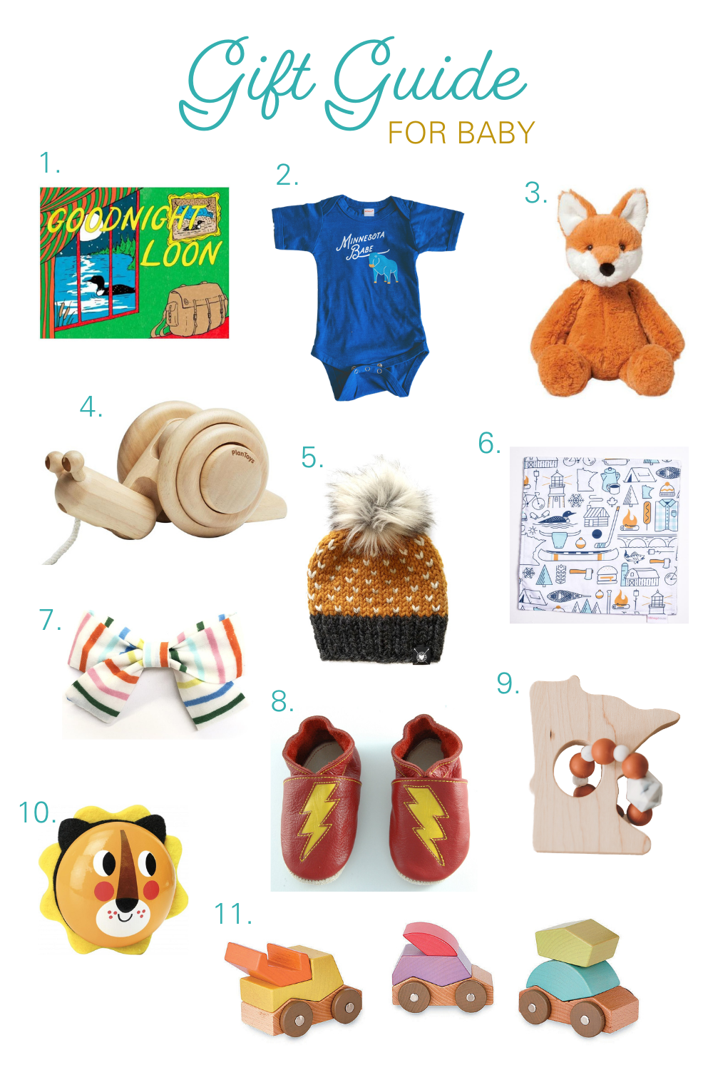 Gift Guide for Baby