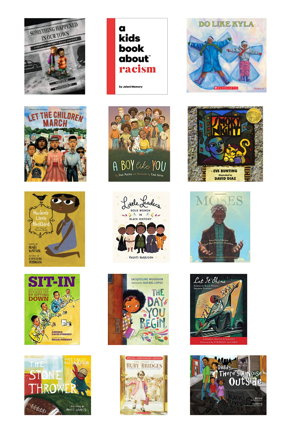 Children's books about race, racism and resistance