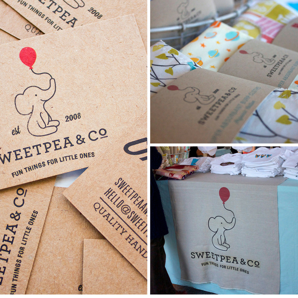 Sweetpea and Co. Current Branding