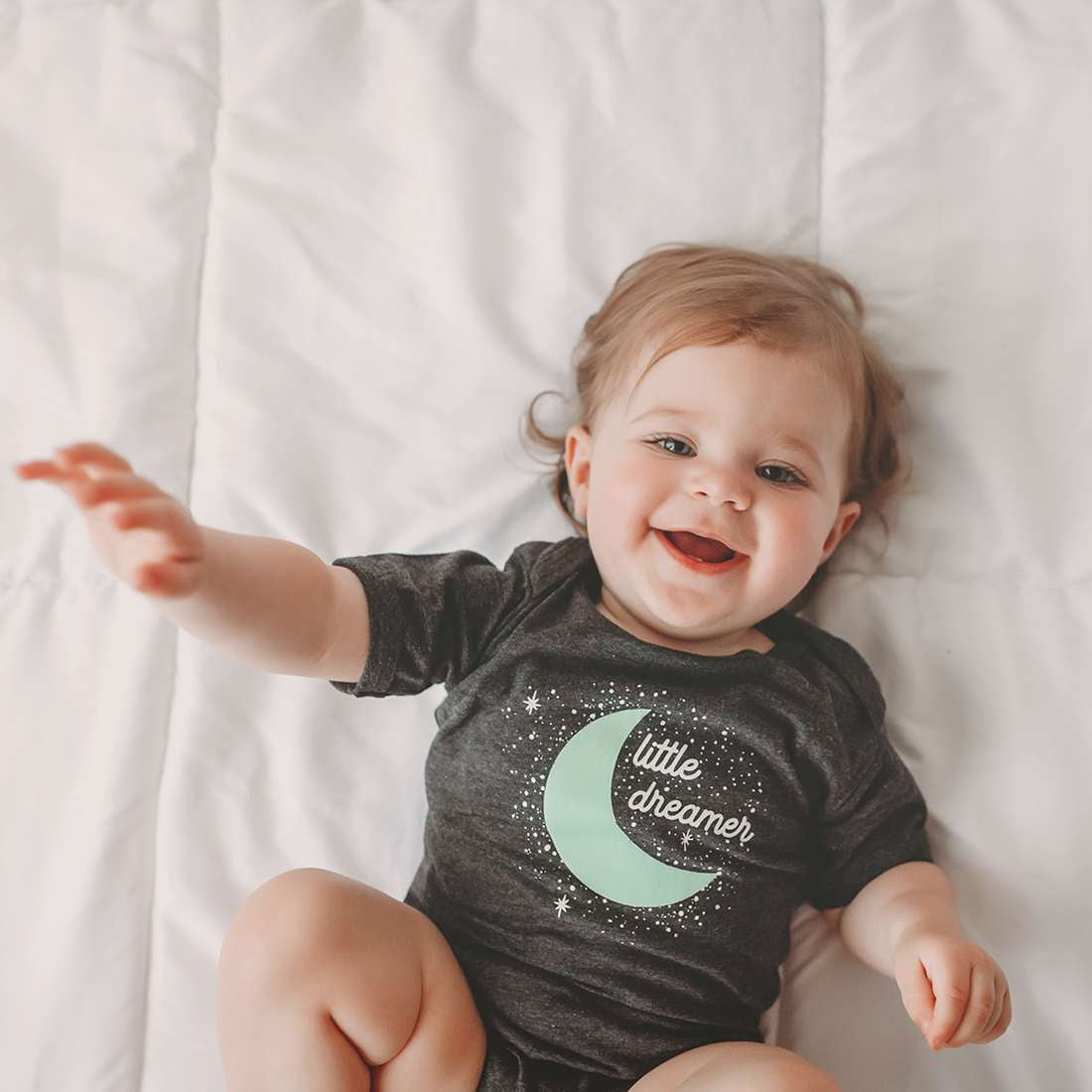 Little Dreamer baby bodysuit - wholesale - Sweetpea and Co.