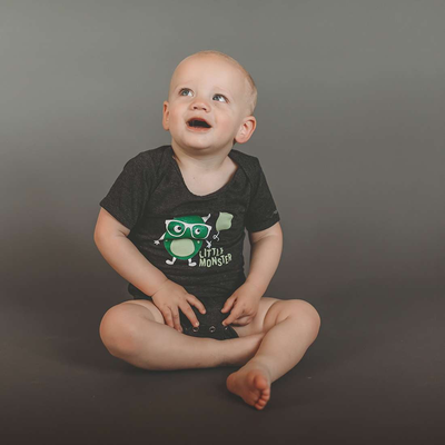 Little Monster baby bodysuit - Sweetpea and Co.