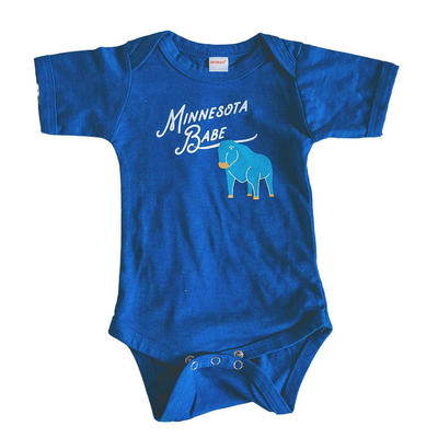 PRE-ORDER Minnesota Babe baby bodysuit - wholesale - Sweetpea and Co.