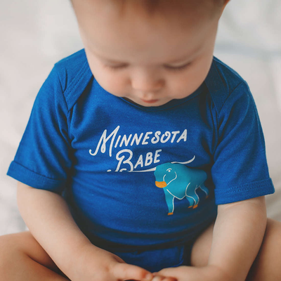 Minnesota Babe baby bodysuit - Sweetpea and Co.