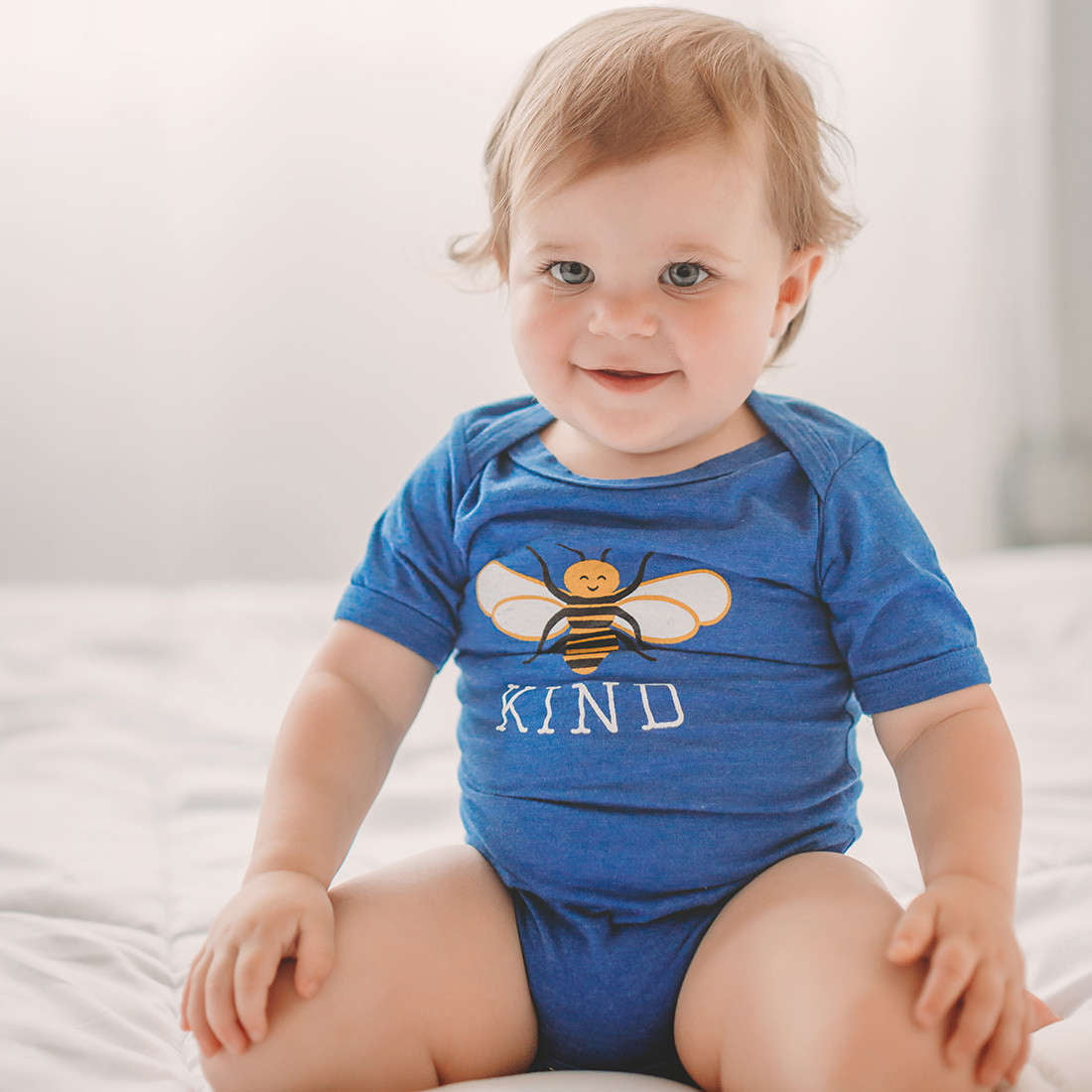 PRE-ORDER Bee Kind baby bodysuit - wholesale - Sweetpea and Co.