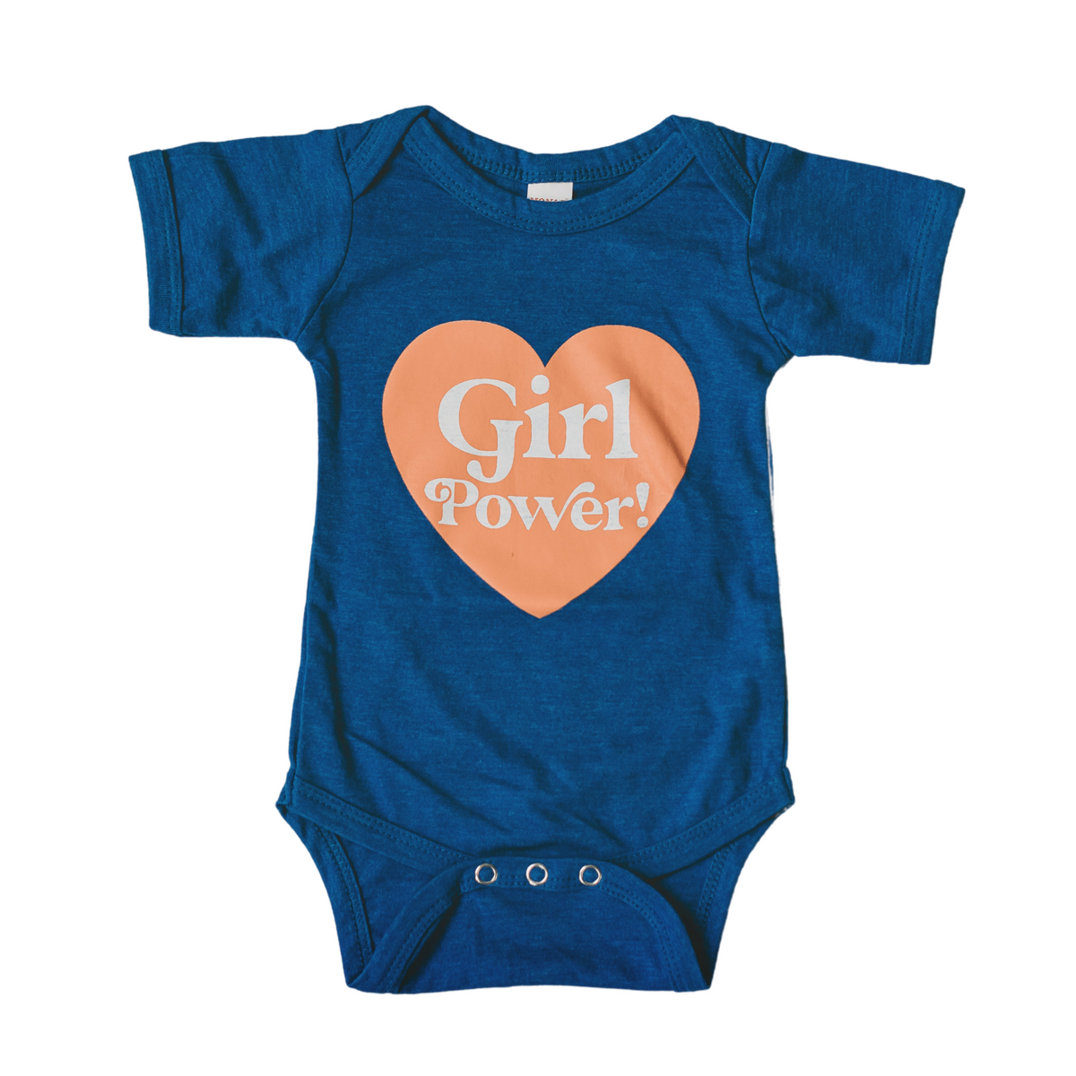 Girl Power baby bodysuit - 10% sales donated to Girls INC.