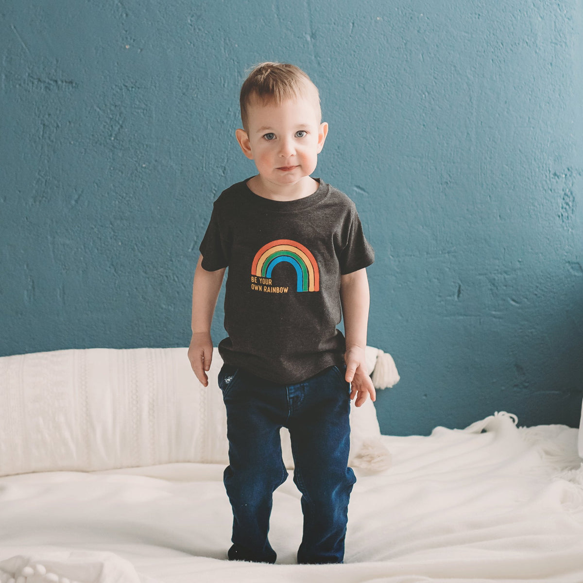 Be Your Own Rainbow Kid's T-shirt - Sweetpea and Co.