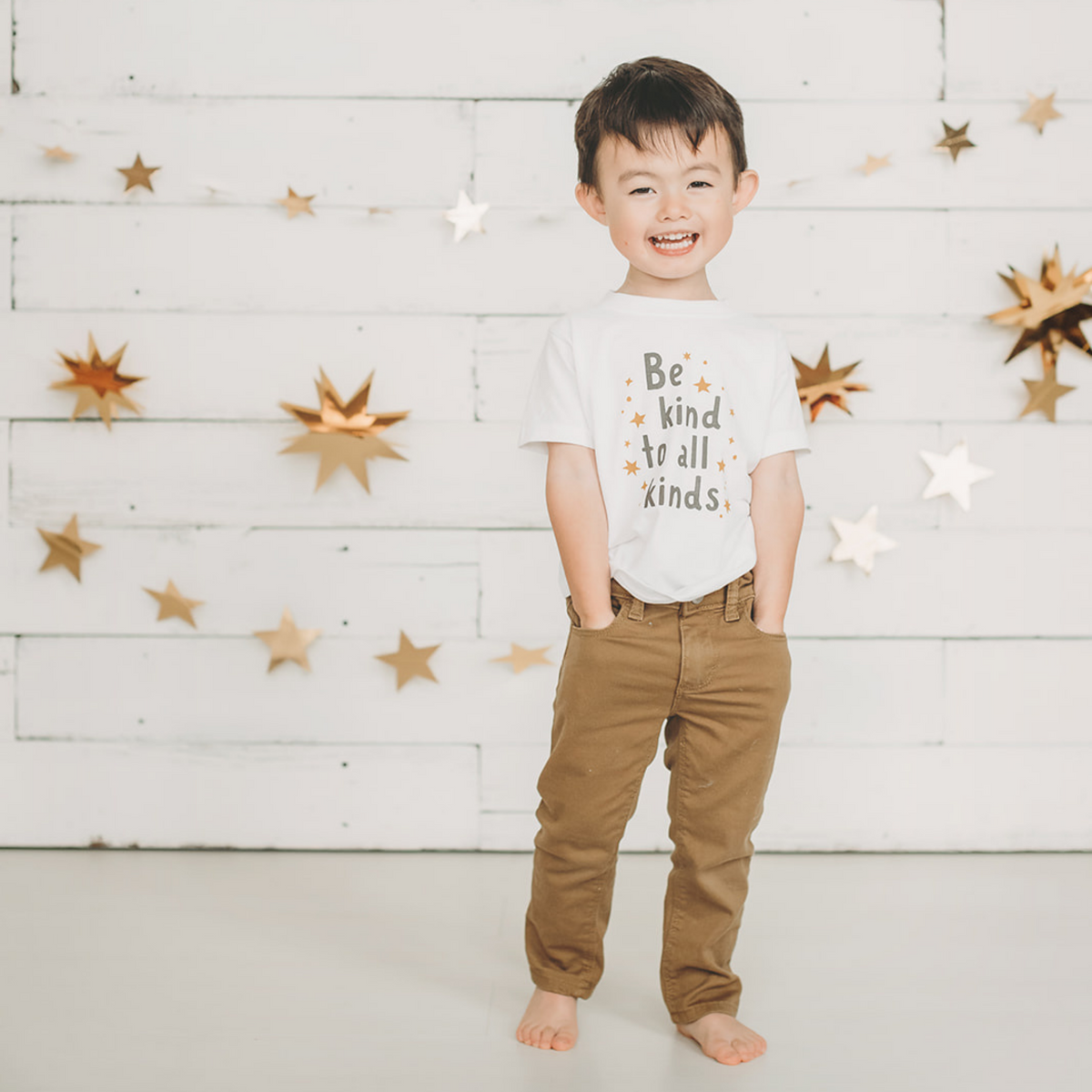 Be Kind to all Kinds Kid's T-shirt