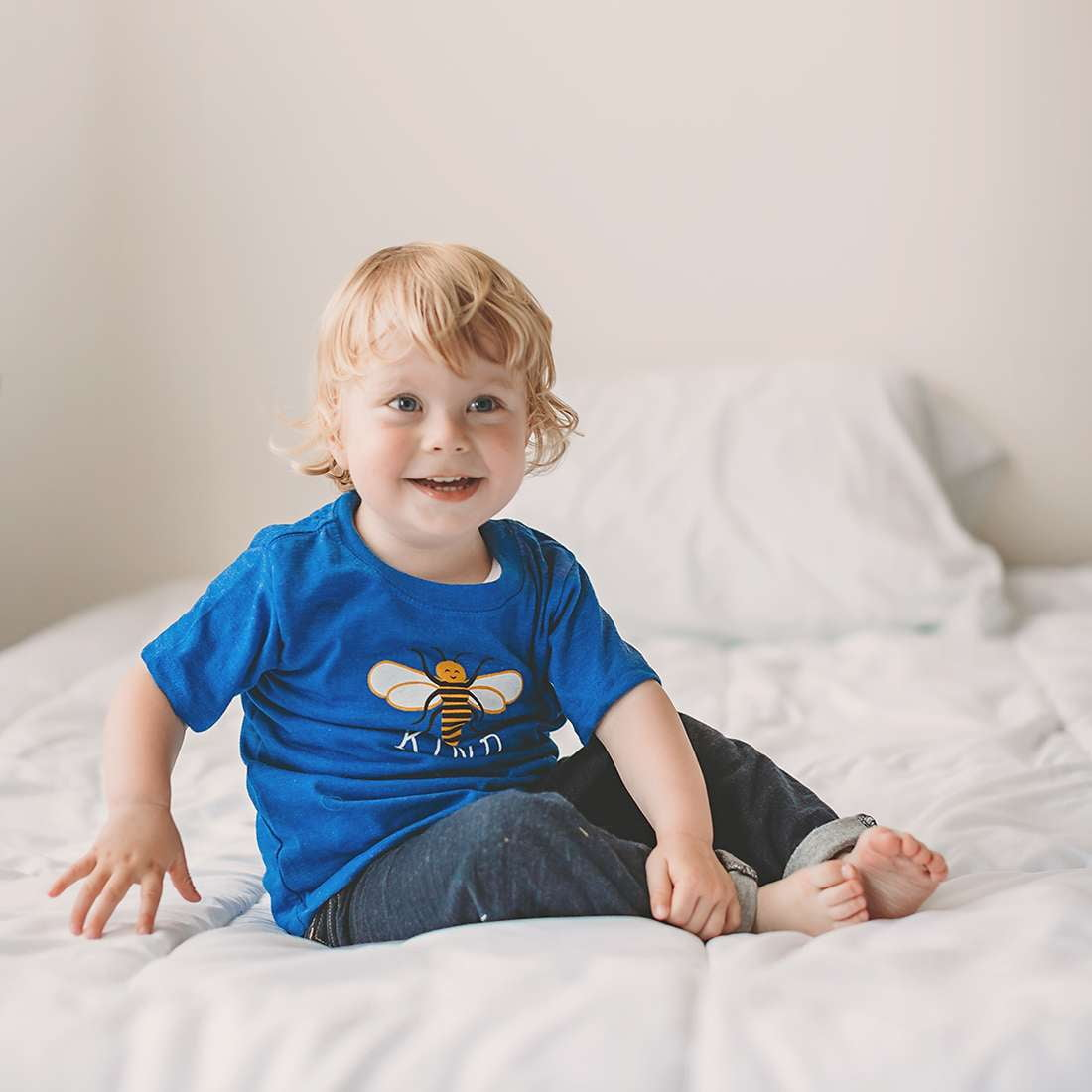 Bee Kind Kid's Tee - Sweetpea and Co.