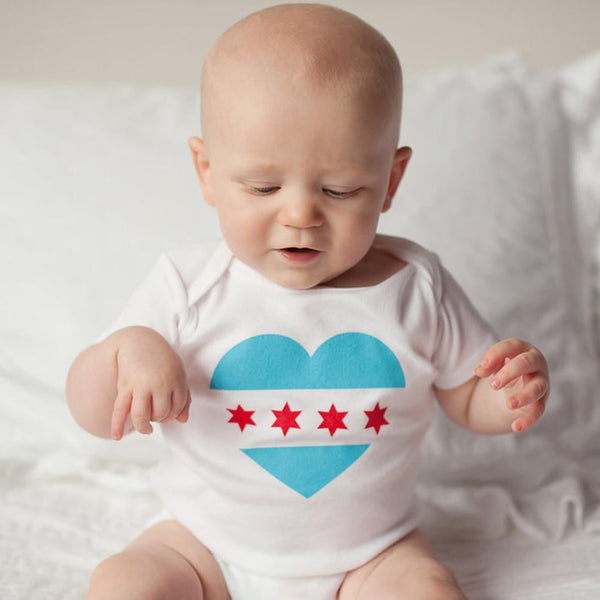Organic Chicago Pride Bodysuit - Sweetpea and Co. - 2