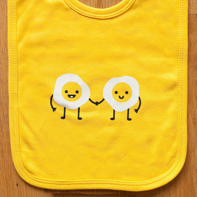Egg Pals Baby Bib - Sweetpea and Co.