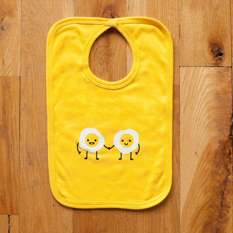Egg Pals Baby Bib - wholesale - Sweetpea and Co.