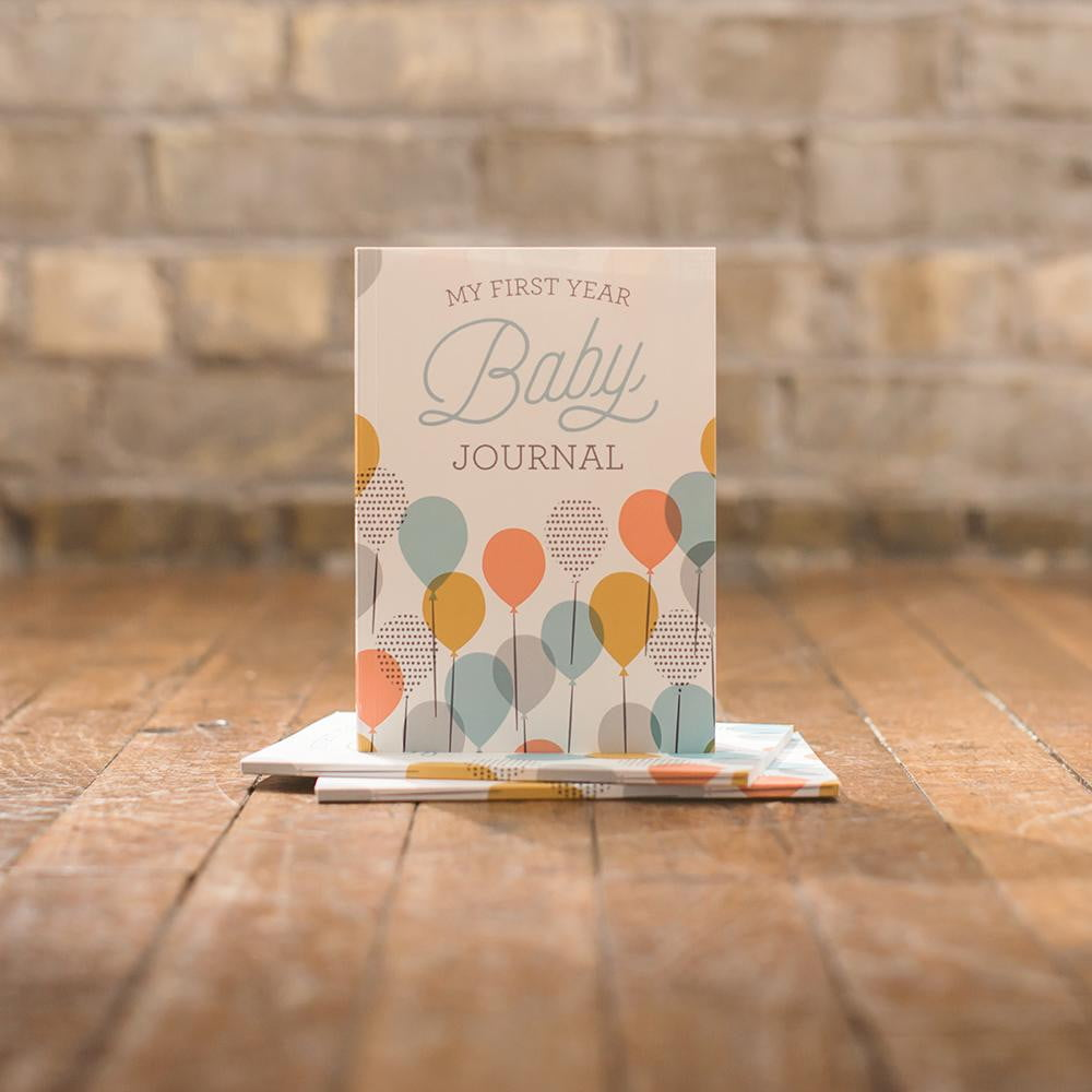 My First Year Baby Journal - Sweetpea and Co.
