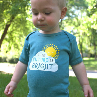 The Future is Bright Baby Bodysuit - Sweetpea and Co.