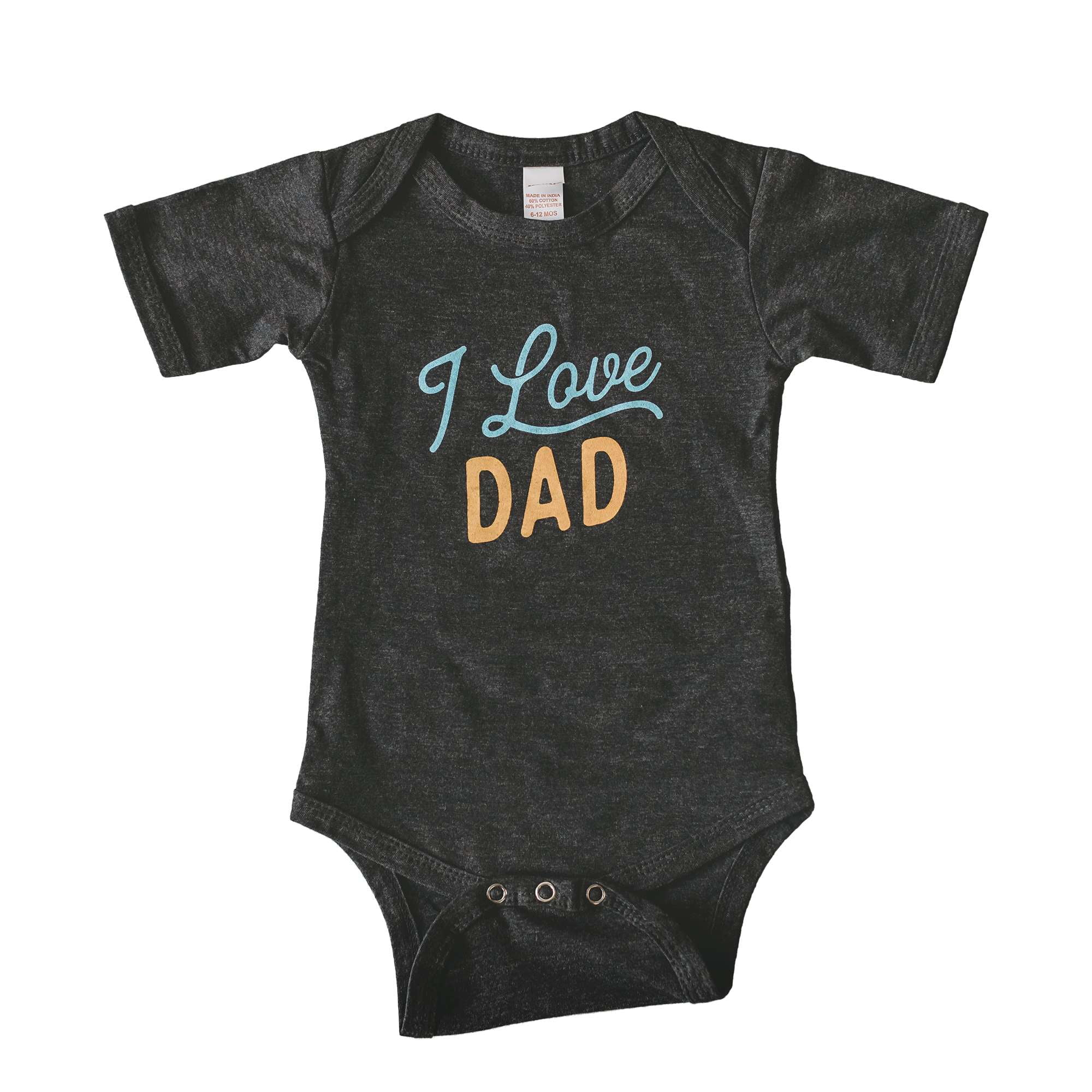 I Love Dad baby bodysuit - Sweetpea and Co.