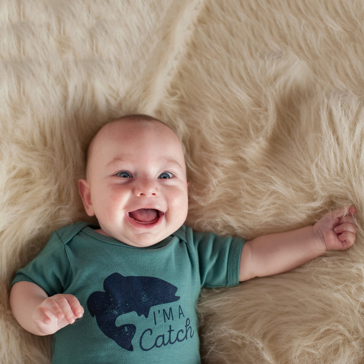 I'm a Catch Baby Bodysuit - Sweetpea and Co.