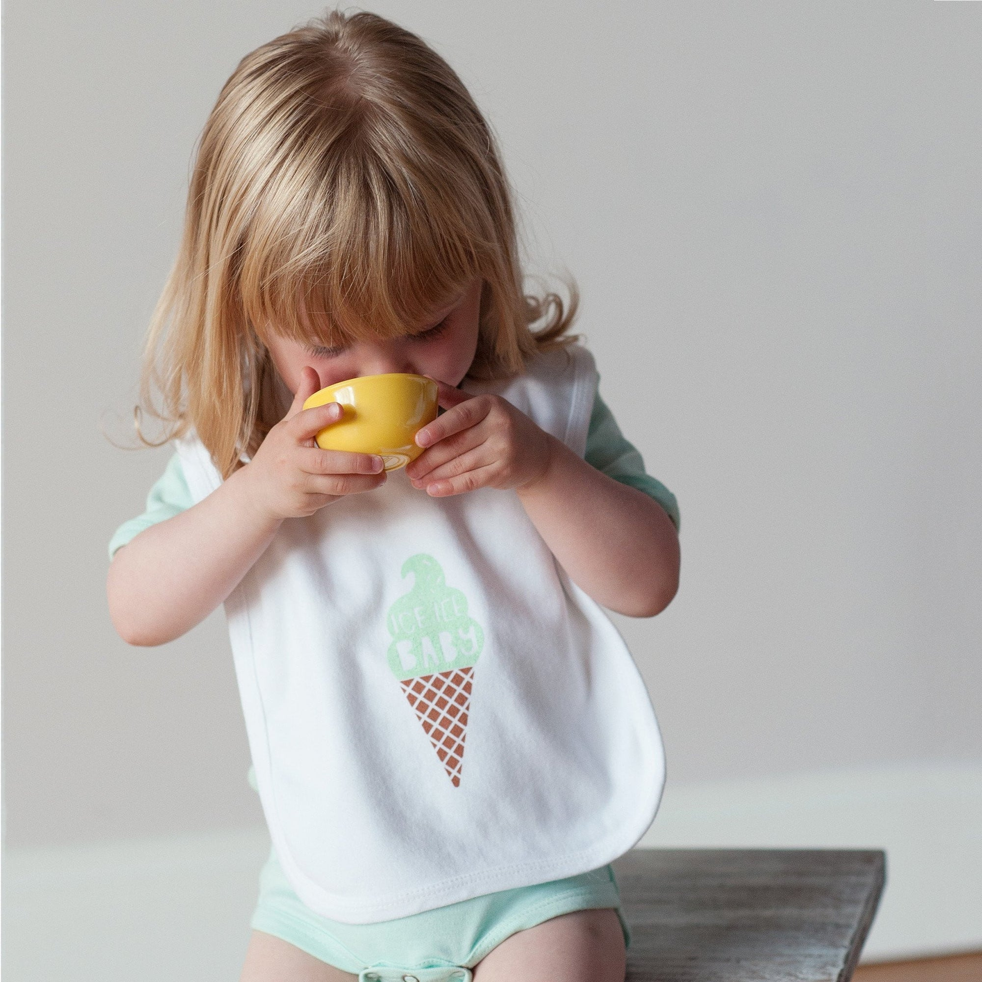 Ice Cream Baby Bib - Sweetpea and Co.