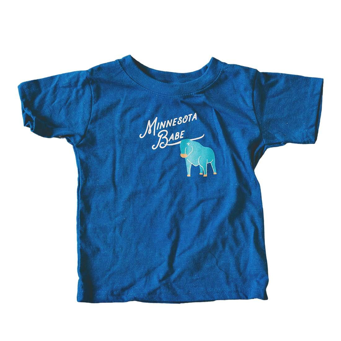 Minnesota Babe Kid's Tee - Wholesale - Sweetpea and Co.