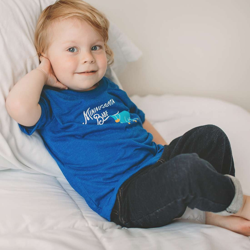 Minnesota Babe Kid's Tee - Sweetpea and Co.