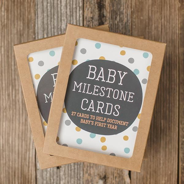Baby Photo Milestone Cards - Sweetpea and Co.