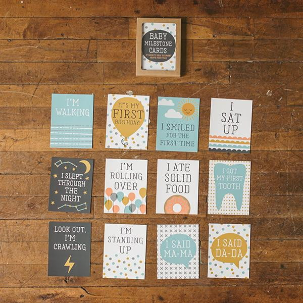 Baby Photo Milestone Cards - Wholesale - Sweetpea and Co.