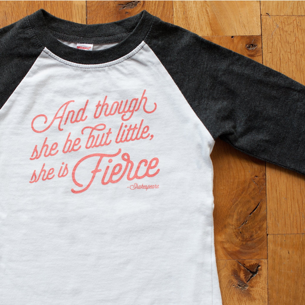 She is Fierce Raglan Tee - Sweetpea and Co.