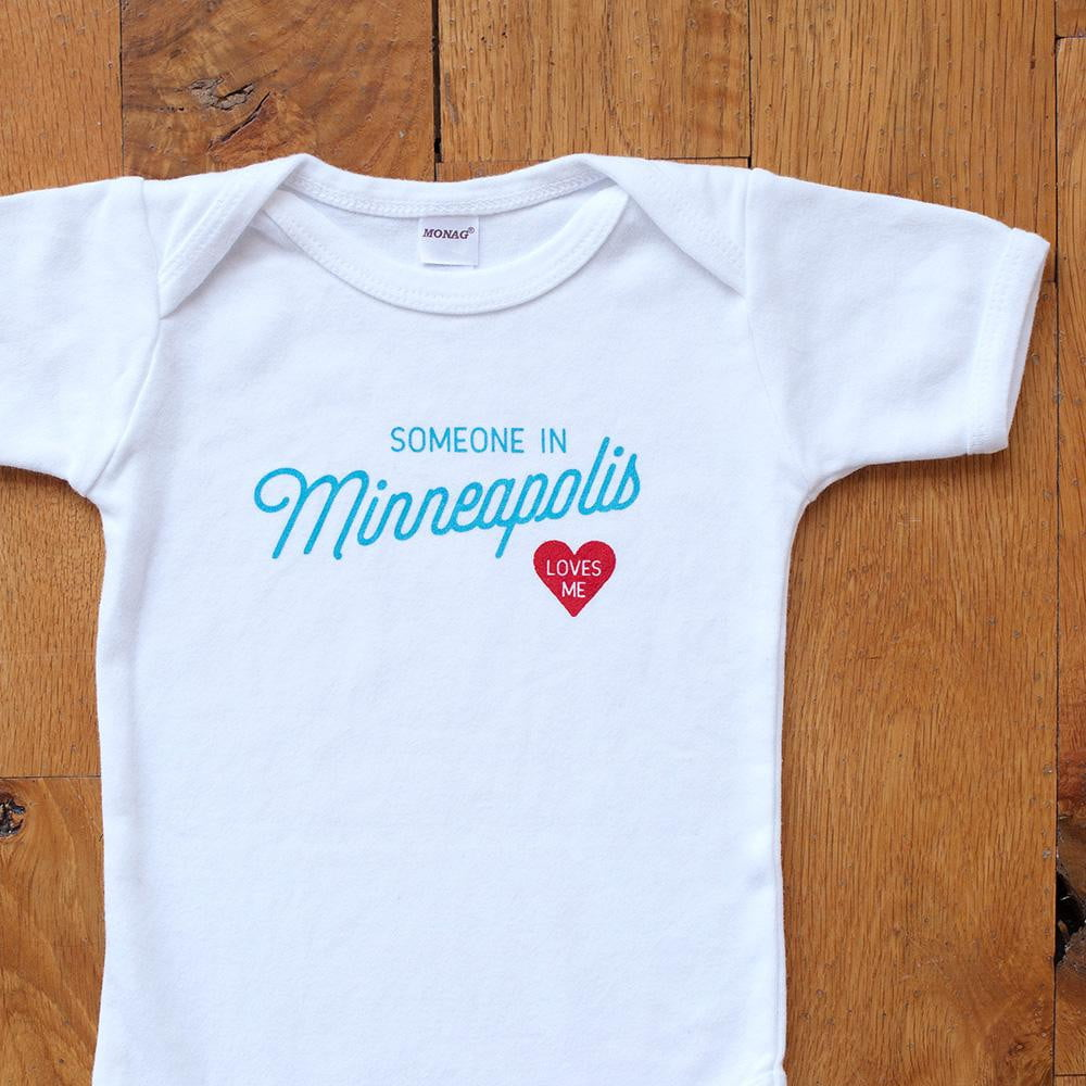 Someone in Minneapolis Loves Me Bodysuit - Wholesale - Sweetpea and Co.
