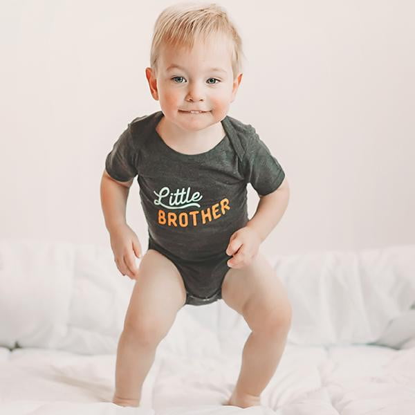Little Brother Baby Bodysuit - wholesale - Sweetpea and Co.