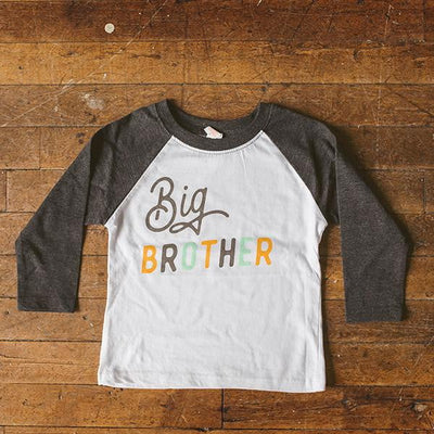 Big Brother Raglan Tee - Sweetpea and Co.