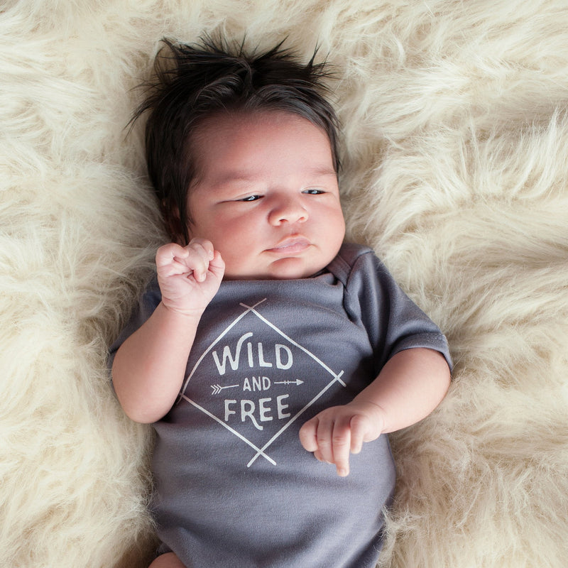 Wild and Free Bodysuit - wholesale - Sweetpea and Co.