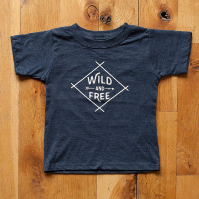Wild and Free T-Shirt - wholesale - Sweetpea and Co.