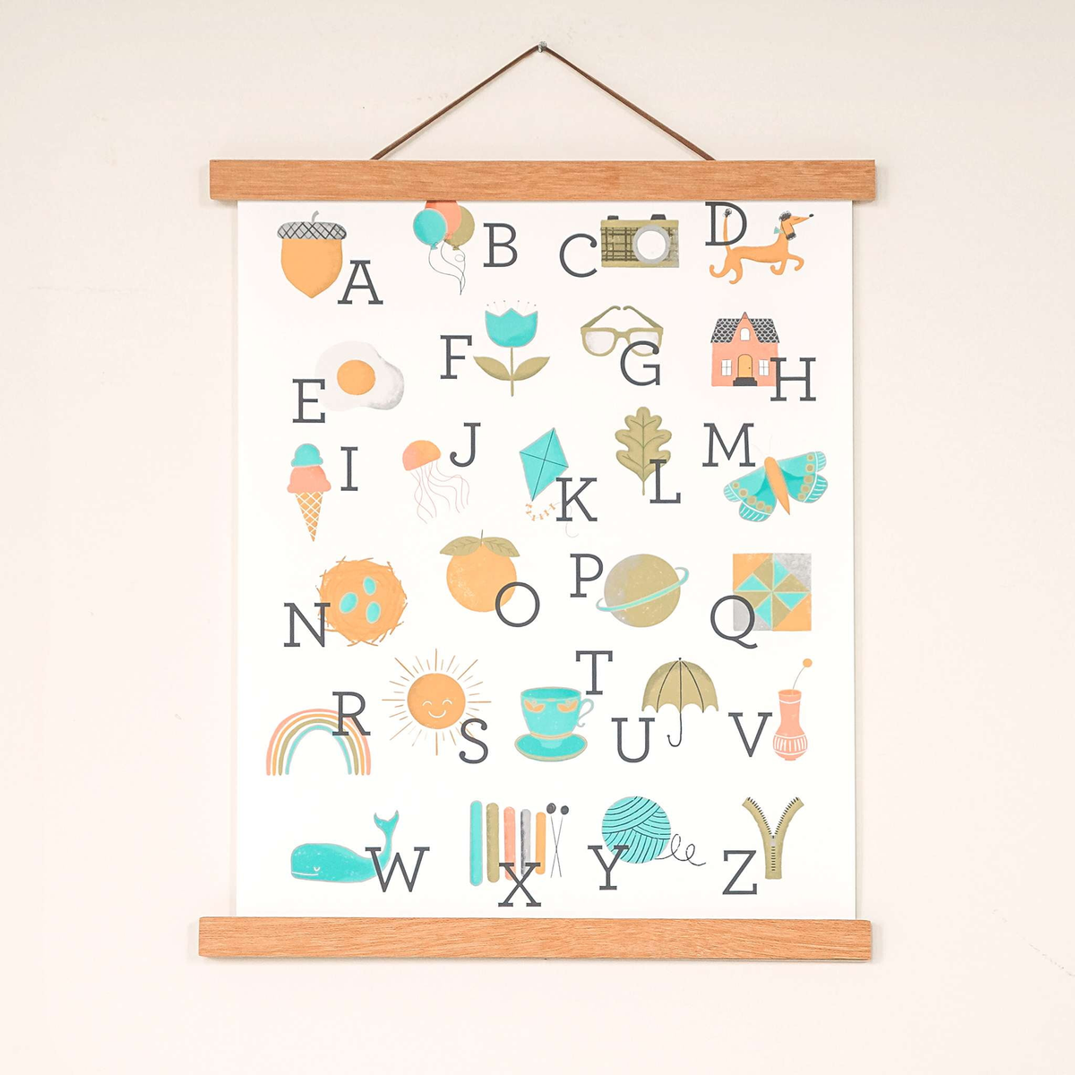 Wholesale - Alphabet Art Print - Sweetpea and Co.