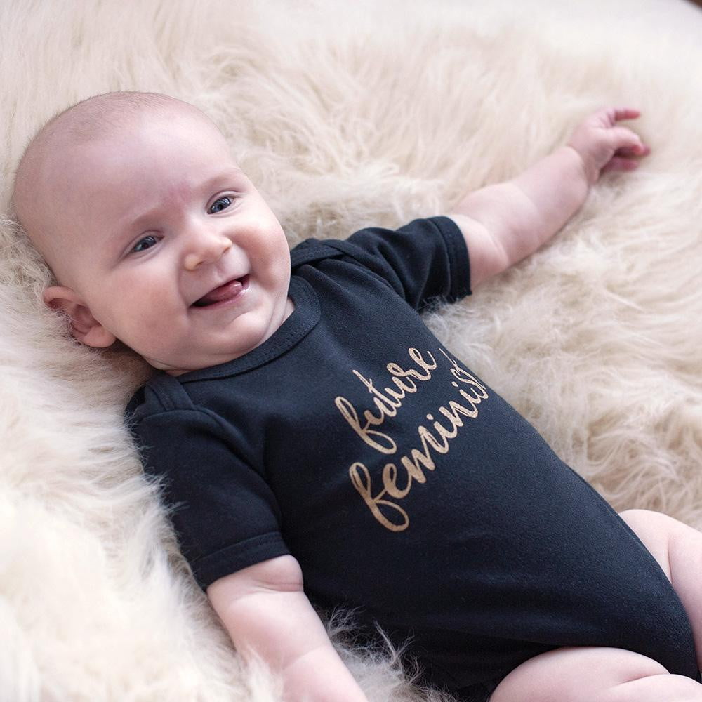 Future Feminist Baby Bodysuit - Sweetpea and Co.