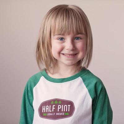 Half Pint Raglan Tee - wholesale - Sweetpea and Co.