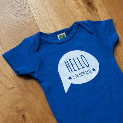 Hello, I'm New Here  Bodysuit - wholesale - Sweetpea and Co.