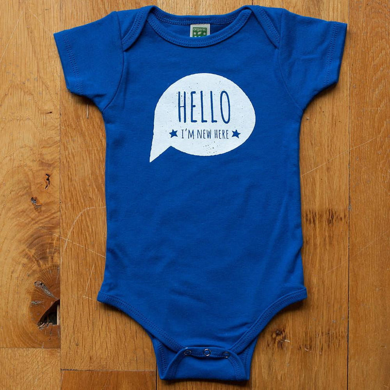 Hello, I'm New Here Bodysuit - Sweetpea and Co.