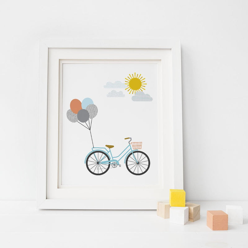 Sunny Day Art Print - Sweetpea and Co.