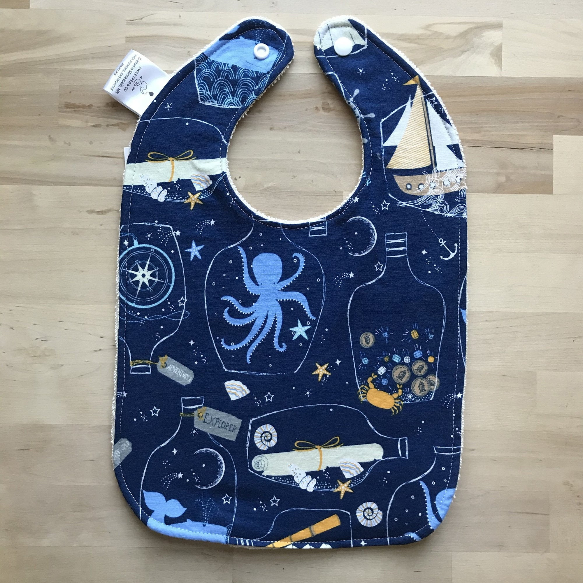 Baby and Toddler Bib - Sweetpea and Co.