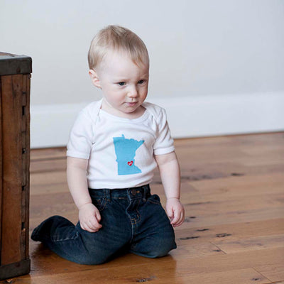 Minnesota Nice Baby Bodysuit - Sweetpea and Co.