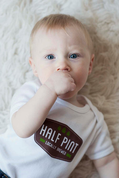 Half Pint Baby Bodysuit - Sweetpea and Co.