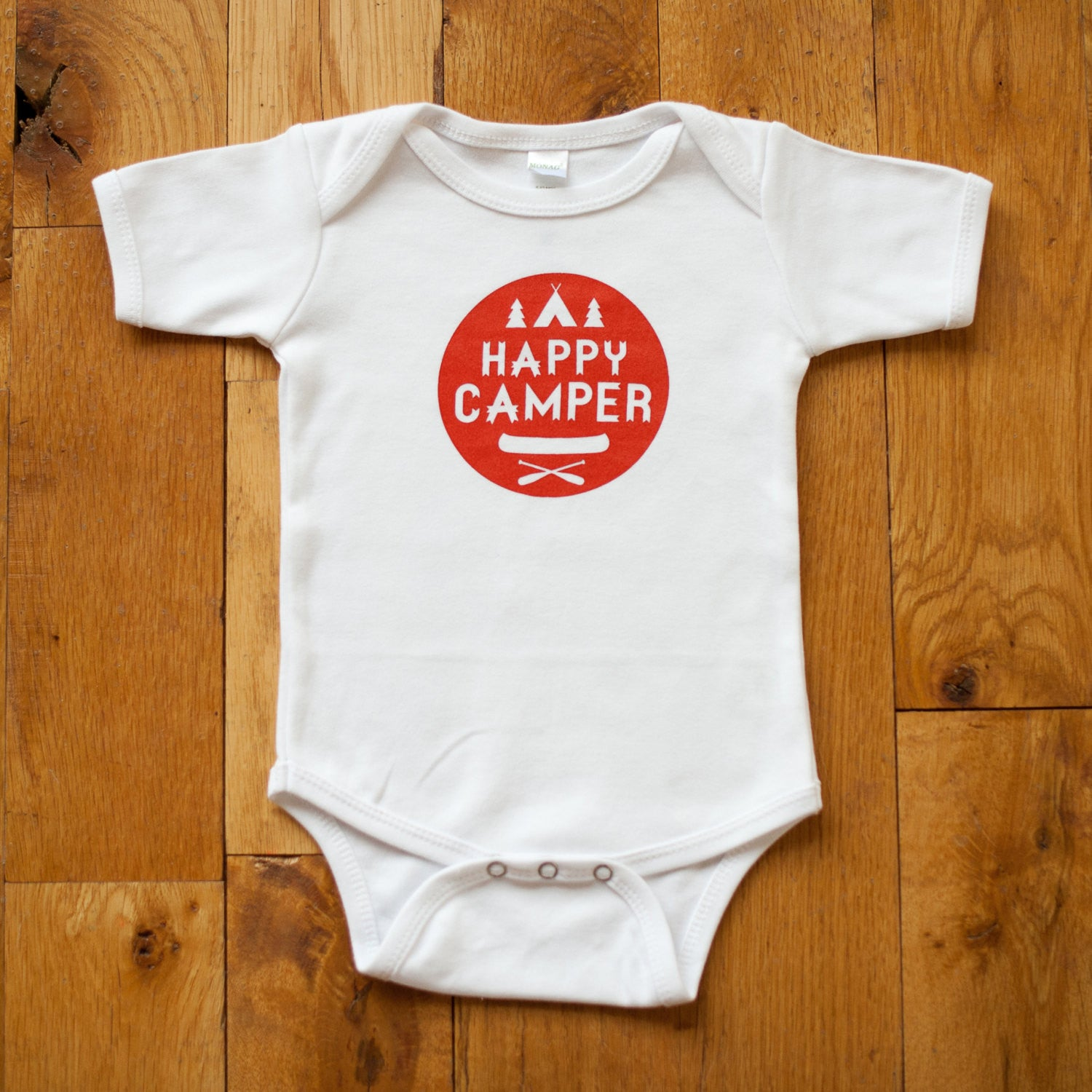 Happy Camper Baby Bodysuit - Sweetpea and Co.