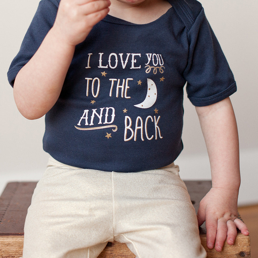 I Love you to the Moon and Back Baby Bodysuit - Sweetpea and Co.